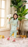 Shirt  Embroidered net fabric front & sleeves with adda work Plain net fabric back Resham lawn attached inner Dupatta  Net fabric dupatta with golden lace work Trouser  Raw silk fabric trouser with Embroidered patti