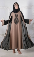 Luxury Pret Front Close Style Abaya