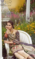 1.25 Yards Embroidered Printed Lawn Front 1.25 Yards Printed Lawn Back 0.75 Yard Printed Lawn Sleeves 2.75 Yards Printed Dupatta 2.50 Yards Printed Cambric Pants