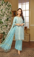 Embroidered Neck Patch Sleeves Patch Trouser Cotton Jacquard Dupatta Cotton Jacquard