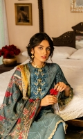 SHIRT (2.5M)  DIGITAL PRINTED LAWN SHIRT  1 EMBROIDERED MOTIF FOR NECKLINE  PATTI FOR HEM  TROUSER (2.5M)  DYED CAMBRIC TROUSER  EMBROIDERED PATTI FOR TROUSER  DUPATTA (2.5M)  DIGITAL PRINT VISCOSE SILK DUPATTA
