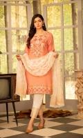 Shirt - Luxury Screen Printed Silk  Trouser - Cotton  Dupatta -  Chiffon (Screen Printed)