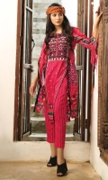 Embroidered Cambric Front 1.15M  Printed Cambric Back 1.15M  Printed Cambric Sleeves 0 65M  Printed Chiffon Dupatta 2.50M  Printed Cambric Trouser 2.00M