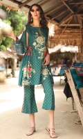 Embroidered Cambric Front 1.15M Printed Cambric Back 1.15M Embroidered Cambric Sleeves 0.65M Printed Cambric Trouser 2.00M