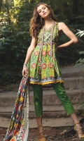 3M Embroidered Shirt 2.5M Printed Lawn Dupatta 2.5M Dyed Trouser
