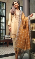 3M Embroidered Shirt 2.5M Printed Dupatta 2.5M Dyed Trouser