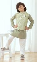 Waistcoat : Self Embroidered Jamawar Fabric Pants: Wash & wear fabric with straight cut pants Shirt: Wash and wear Fabric with thread detail and fabric manipulation