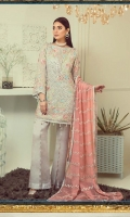 Three Piece Embroidered Suit