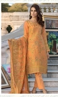 Embroidered massori hand made front back and sleeves embroidered duppata embroidered front back daman patch grip Troser and accessories