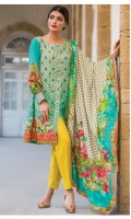 Three Piece Embroidered Modal Suit