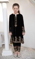 Fabric: Velvet Shirt and Silk Trouser