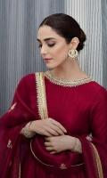 Pishwas Raw Silk Embellished Front & Back. Raw Silk Embellished Sleeves Dupatta Organza Embellished Dupatta Pajama Viscous Churidaar Pajama