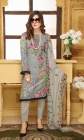 Embroidered Karandi Shirt Crincal Chanttelle Cutwork Dupatta Dyed Trouser