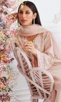 Kashmiri Chai Pink Shirt and Dupatta