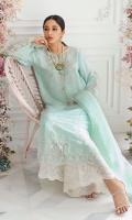 Aqua Alayna Silk Shirt and Dupatta