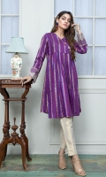 Embroidered Jacquard Stitched Frock