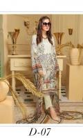 Embroidered Karandi Shirt Printed Chiffon Dupatta Dyed Trouser