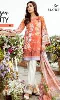 Digital Printed shirt: 3.00 mtr  Trouser: 2.50 mtr  Pima Lawn Voil Dupatta: 2.5mtr  Add On  Embroidered Motif: 1pc  Embroidered lace: 1mtr