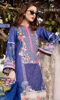 Digital Printed Embroidered shirt: 3.00 mtr  Trouser: 2.50 mtr  Pima Lawn Viol Dupata: 2.5mtr  Add On  Hem border: 1pc  trouser patch: 2 pcs