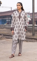 Printed Lawn Shirt - 1.75 meters Printed Trouser - 1.75 meters