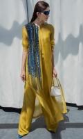 Dress : Organza  Crushed Under dress : Medium Sil
