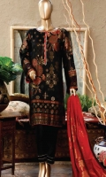 Dyed Multi Jacquard Lawn Shirt Dyed Multi Jacquard Lawn Dupatta Dyed Cambric Trouser