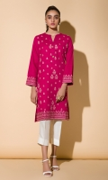 Embroidered Kurta Full Sleeves Fancy Buttons