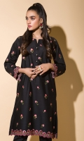Embroidered Kurta Full Sleeves Lace Finishing Fancy Buttons