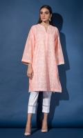 Chikankari Kurta Full Sleeves Lace Finishing