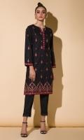 Embroidered Kurta Full Sleeves Lace Finishing