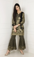Jacquard Composed Shirt with All Over Jacquard Trouser 2 Piece suit  Shirt + Trouser