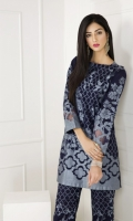 Jacquard Composed Shirt with AllOver Jacquard Trouser 2 Piece suit  Shirt + Trouser
