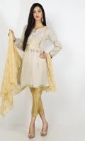 Masoori Lawn Emb Shirt with Duppata 2 Piece suit  Shirt + Dupatta