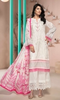 EMBROIDERED FRONT 1.25M PRINTED BACK & SLEEVES 1.9M PRINTED TROUSER 2.5M CHIFFON DUPATTA 2.5M