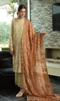 Embroidered Chiffon Shirt Embroidered Chiffon Dupatta Raw Silk Trouser