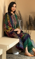 Digital Printed Linen Shirt Digital Printed Viscose Net Dupatta Embroidered Neck Patch Dyed Linen Trouser Dyed Organza