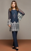 Fabric : Chiffon  Includes: Shirt with Lining and Accessories