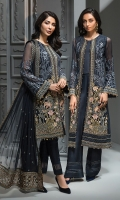 EMBROIDERED CHIFFON FRONT PANELS EMBROIDERED CHIFFON BACK EMBROIDERED CHIFFON SLEEVES  EMBROIDERED CHIFFON DUPATTA  EMBROIDERED DUPATTA PATCH  EMBROIDERED SLEEVES BORDER EMBROIDERED FRONT & BACK BORDERS EMBROIDERED GRIP PATCH  EMBROIDERED TOUSER ORGANZA PATCH  DYED TROUSER