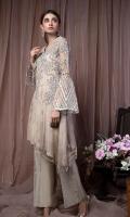 Trouser Indian Raw Silk Masoori Net Resham Cotton
