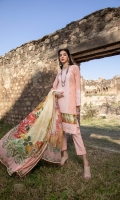 3 Mtr Embroidered Lawn Shirt 2.5 Mtr Digital Silk Dupatta 2.5 Mtr Trouser 2 Mtr Sattin Patti