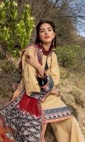 Chikan Kari Shirt 2.5 Mtr Silk Dupatta 2.5 Mtr Trouser 2 Mtr Satin Patti