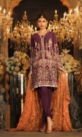 Embroidered Shirt  Printed dupatta  Simple Trouser