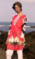 Fabric: Lawn  Color: Pink  Embellished Neckline  Printed front  Embellished Sleeves