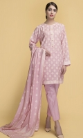 paste printed shirt and duppata with dyed trouser