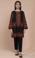 Printed & Embellished Wider Width Lawn Shirt(2.5m)