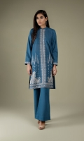 Dyed & Embroidered Wider Width Khaddar Shirt Front(1.00m) Dyed & Embroidered Wider Width Khaddar Shirt Back & Sleeves(1.50m) Dyed Khaddar Shalwar(2.50m)