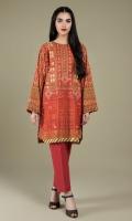 Digital Printed Wider Width Khadar Shirt(2.50m)