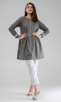 Grey Tunic with Tassels