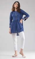 Blue Tunic with Tassels