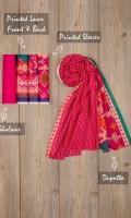Shirt Front 1.25m Shirt Back 1.25m Sleeves 0.75m Dupatta 2.5m Shalwar 2.5m